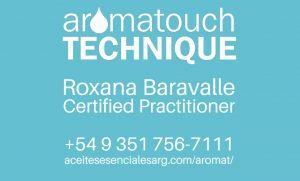 AromaTouch Technique por Roxana Baravalle, practicante certificada