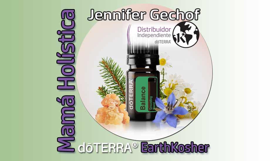 Mamá Holística Jennifer Gechof dōTERRA® EarthKosher