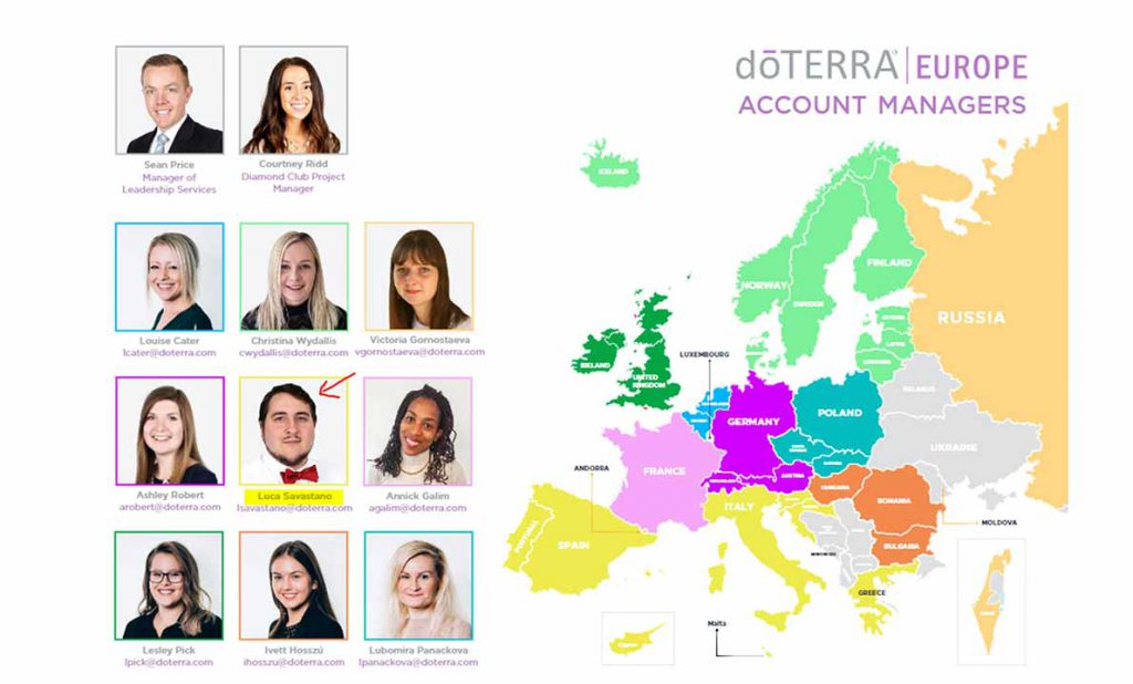 dōTERRA® Europa Account Managers