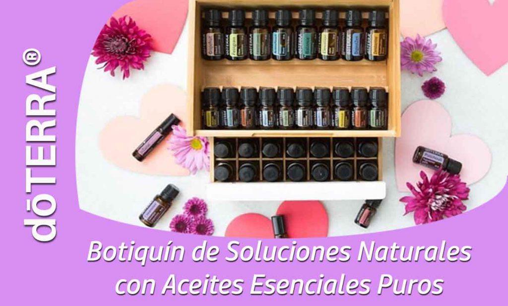 Botiquín de Soluciones Naturales con Aceites Esenciales Puros