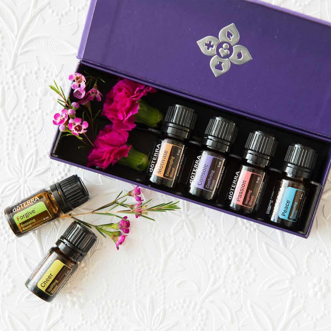 Kit de Aromaterapia Emocional por difusión.