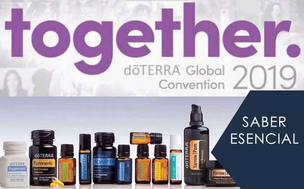 Saber Esencial. Productos dōTERRA® Global Convention Together 2019