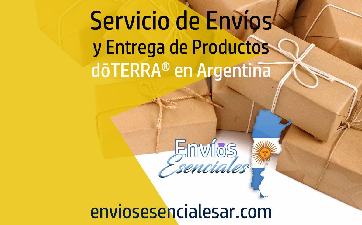 Envíos Esenciales Servicio de Envíos y Entrega de Productos dōTERRA® en Argentina Aceites Esenciales, Suplementos, Accesorios, Tecnología e Información para apoyar tu Negocio de Bienestar.